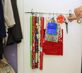 closet door wrapping station closet doors & A Wrapping Station on Your Closet Door | Hometalk